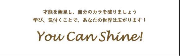 You Can Shine!